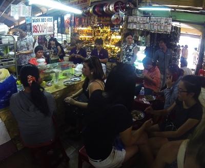 Banh Beo en mercado Ben Thanh