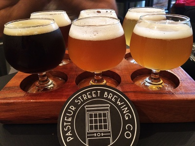 Cervezas en Pasteur Street Brewing Co