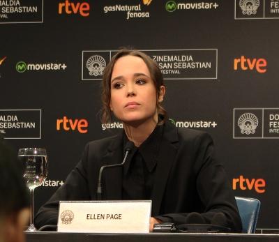 Ellen Page presentando Freeheld