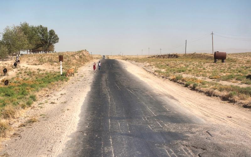 Camino a Shahrisabz